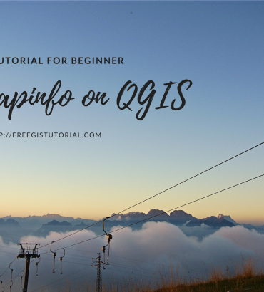 How to open Mapinfo TAB file on QGIS