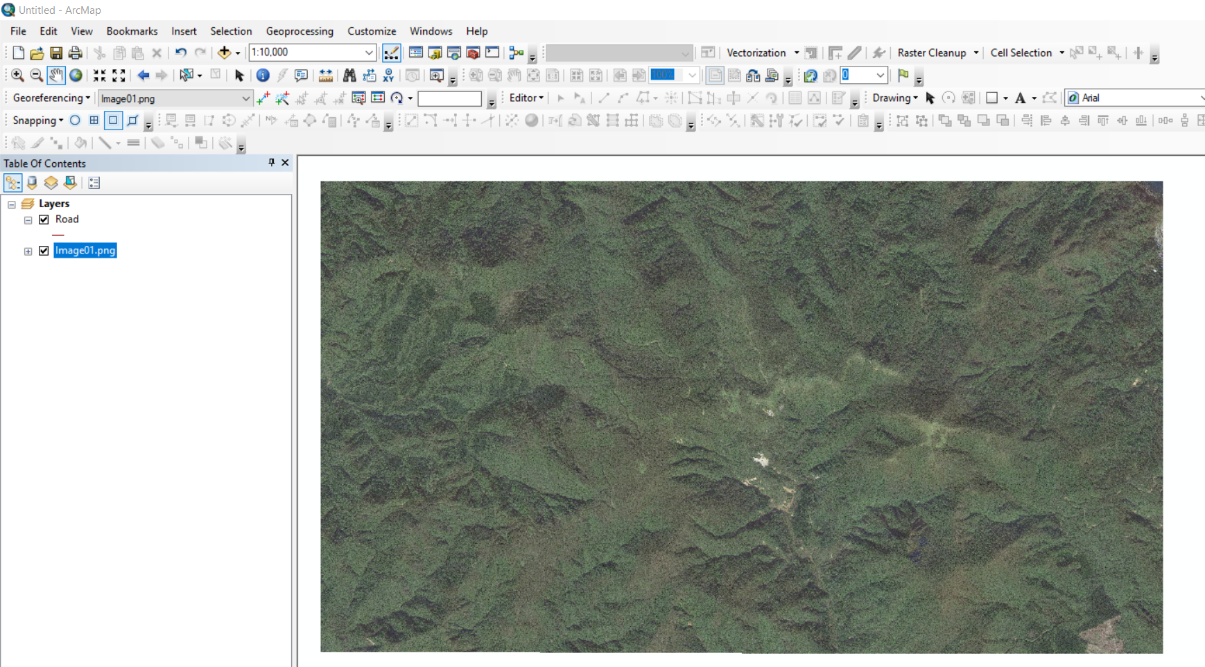 georeference image on arcgis 10 step 2.png