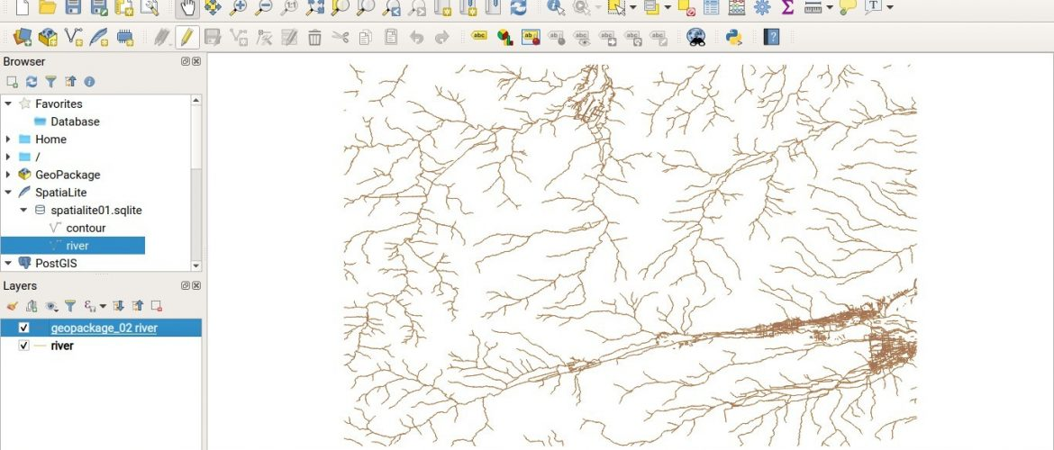 create a geopackage on QGIS