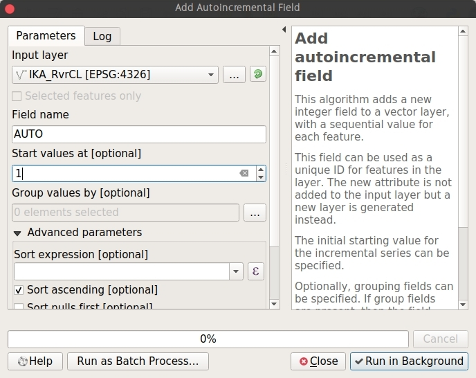How to Add Auto Incremental Field on QGIS | GIS Tutorial