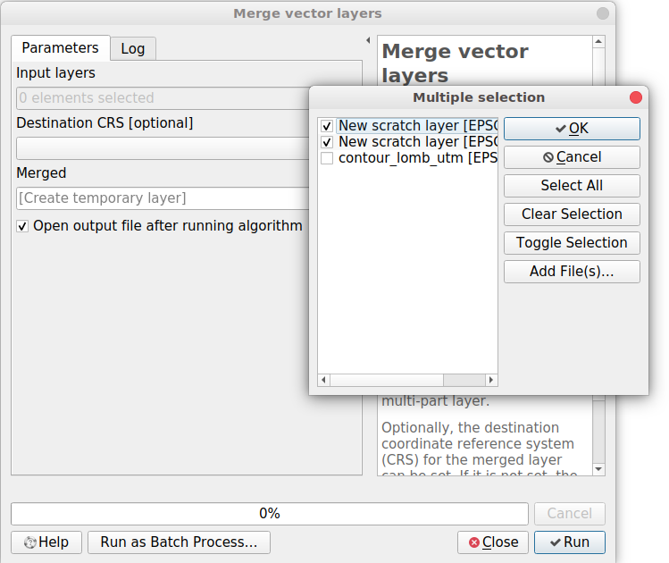 How to Merge Vector Layers on QGIS 3 2 | GIS Tutorial