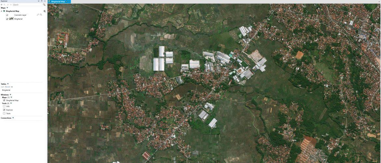 Open Bing Aerial Map