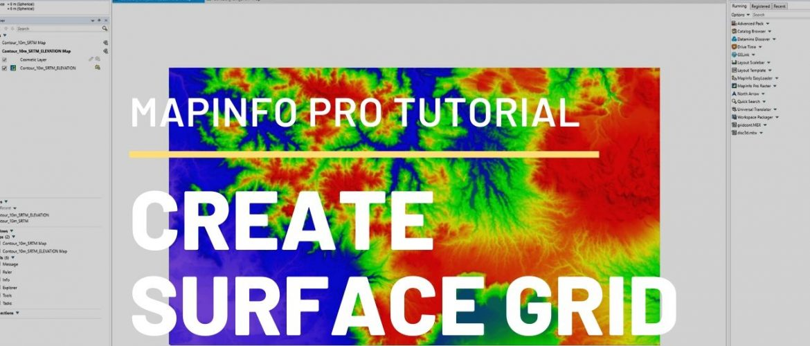 Create surface grid in Mapinfo thumbnail