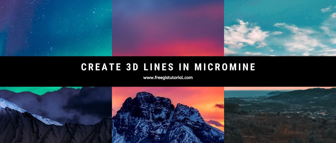 create 3d lines in MM
