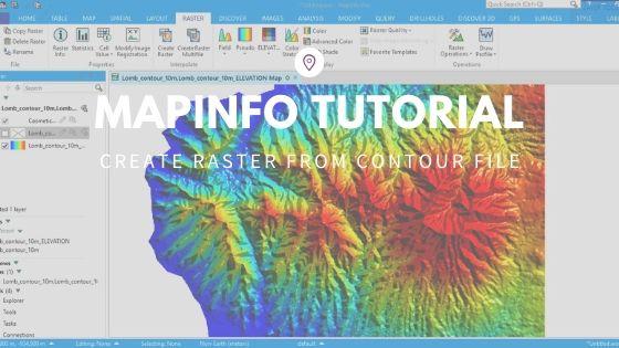 mapinfo tutorial